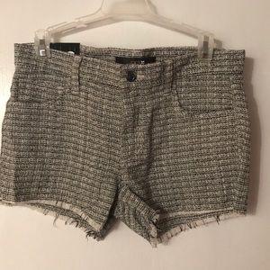 Joe's Jeans Shorts - Joe's Jeans. Black and white plaid shorts. Size 26